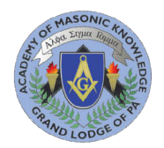 Academy of Masonic Knowledge - Grand Lodge of Pennsylvania