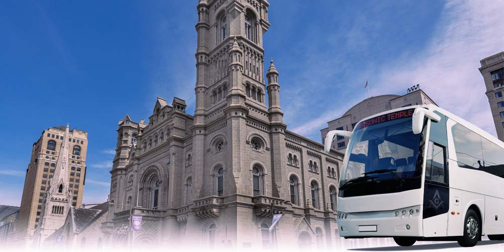 Masonic Temple Bus Tour