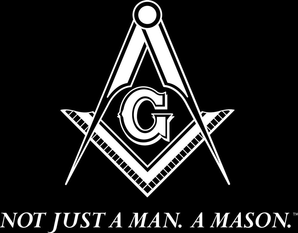 Pennsylvania Freemasonry Logo - Square and Compass - White