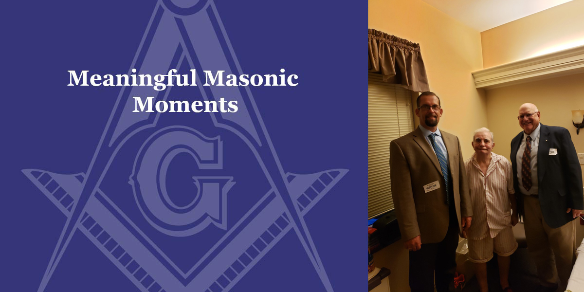 Ronald B. Carson, District Deputy Grand Master, 1st Masonic District