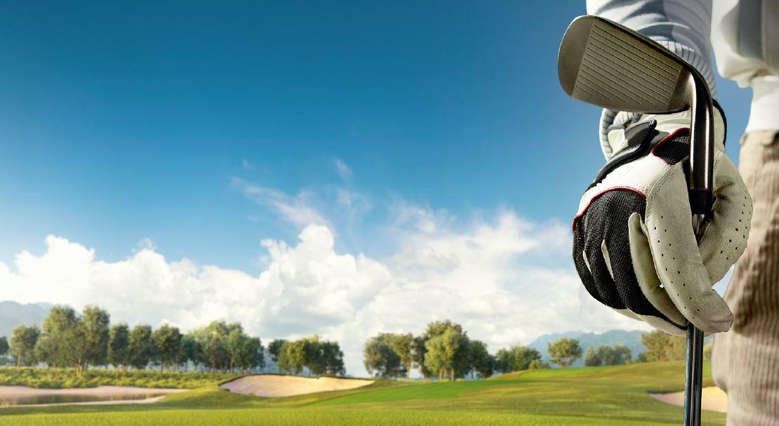 Golfer Closeup